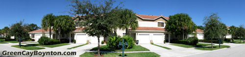 Villa homes at Boynton Beach's Green Cay Village offer an attractive lifestyle at an affordable price.